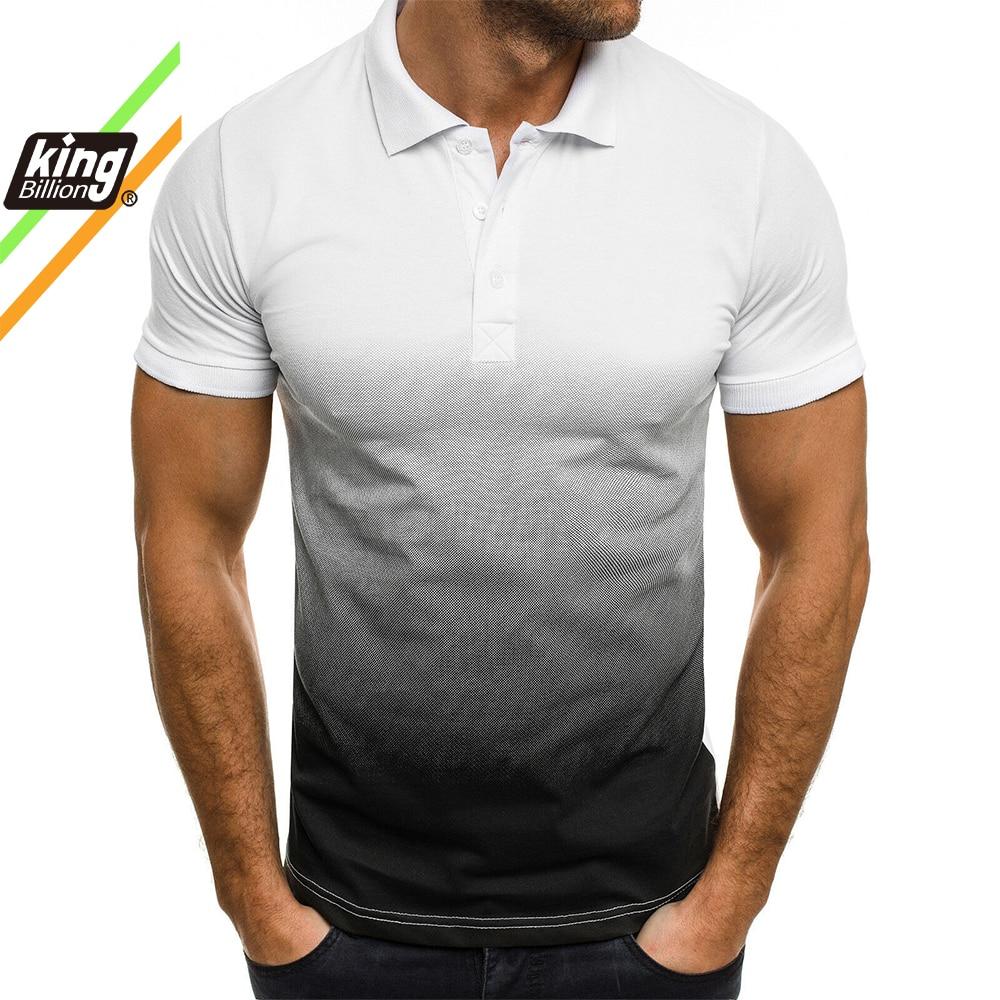 KO Hommes Polo Hommes Chemise À Manches Courtes Polo Contraste Couleur Polo Nouveaux Vêtements D'été Streetwear Décontracté Mode Hommes hauts